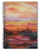 Painted Desert II Spiral Notebook