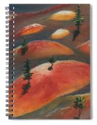 Painted Dunes Spiral Notebook