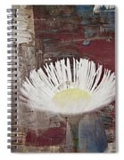 Painted Flower Spiral Notebook