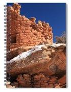 Painted Hand Pueblo Spiral Notebook