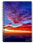Painted Heavens Spiral Notebook