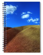 Painted Hills Blue Sky 1 Spiral Notebook