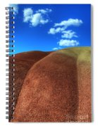 Painted Hills Blue Sky 2 Spiral Notebook