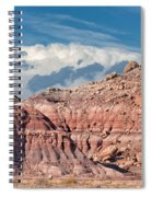 Painted Hills Of The Upper Jurrasic Spiral Notebook