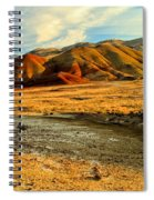 Painted Hills Sunset Spiral Notebook