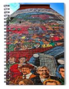 Painted History 3 Spiral Notebook
