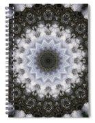 Painted Kaleidoscope 16 Spiral Notebook