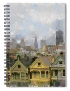 Painted Ladies - San Francisco Spiral Notebook