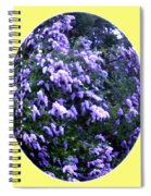 Painted Lilacs Spiral Notebook