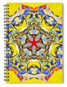 Painted Lotus Xiii Spiral Notebook