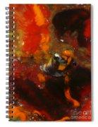 Painted Man Spiral Notebook