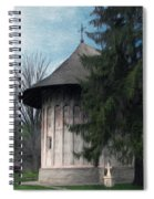 Painted Monastery Spiral Notebook