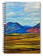 Painted Mountain Spiral Notebook