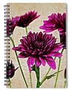 Painted Pink Bouquet Spiral Notebook