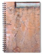 Painted Pink Concrete Spiral Notebook