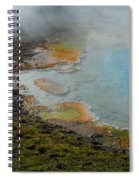 Painted Pool Of Yellowstone Spiral Notebook