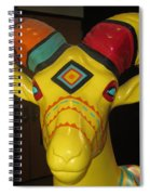 Painted Ram Spiral Notebook