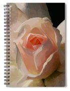 Painted Rose Spiral Notebook