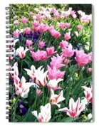Painted Spring Exhibit Spiral Notebook