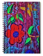 Painted Table Spiral Notebook
