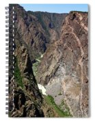 Painted Wall Black Canyon Of The Gunnison Spiral Notebook