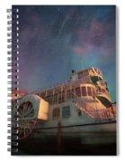 Painterly Northern Lights Spiral Notebook