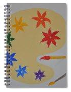 Painter's Bliss Spiral Notebook