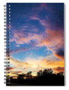 Painter's Sunset Spiral Notebook