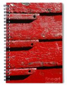 Painting It Red Spiral Notebook