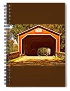 Painting Memories Spiral Notebook
