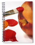 Painting Natures Colors Spiral Notebook