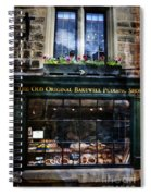 Can You See The Ghost In The Top Window At The Old Original Bakewell Pudding Shop Spiral Notebook