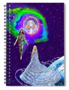 Painting Of The Rapture Of The Church Spiral Notebook