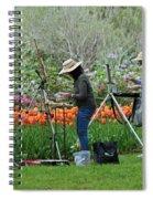 Painting Springtime  Spiral Notebook