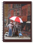 Painting The Past Spiral Notebook