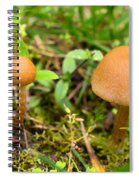Pair O Mushrooms Spiral Notebook