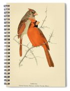Pair Of Cardinals Spiral Notebook