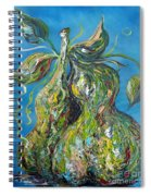 Pair Of Pears Spiral Notebook