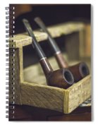 Pair Of Pipes Spiral Notebook