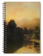 Paisage Spiral Notebook