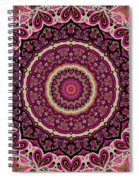 Paisley Hearts Spiral Notebook