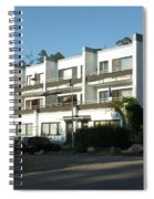 Paivola Building In Sunila Spiral Notebook