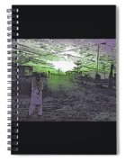 Pakistani Man At Sunset 1 Spiral Notebook
