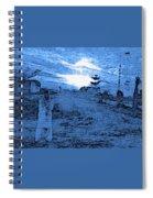 Pakistani Man At Sunset 2 Spiral Notebook