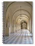 Palace Corridor Spiral Notebook