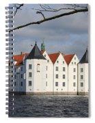 Palace Gluecksburg - Germany Spiral Notebook