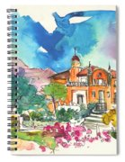 Palace In Sintra Spiral Notebook