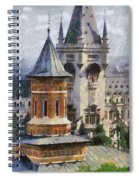Palace Of Culture Spiral Notebook