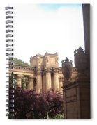 Palace Of Fine Arts 8 Spiral Notebook