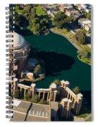 Palace Of Fine Arts Aloft Spiral Notebook